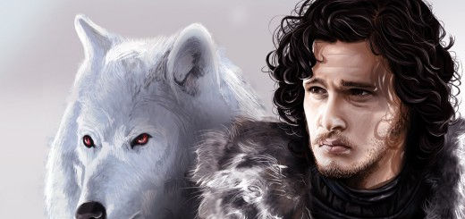 Jon Snow and Ghost - By Wons Noj (Own work) [CC-BY-SA-3.0 (http://creativecommons.org/licenses/by-sa/3.0)], via Wikimedia Commons)